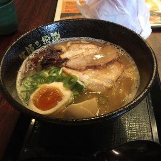 和風鶏こつ麺(三代目 やぶ家 )