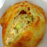枝豆とクリームチーズのパン