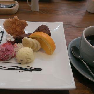 デザートプレート(Bb cafe)