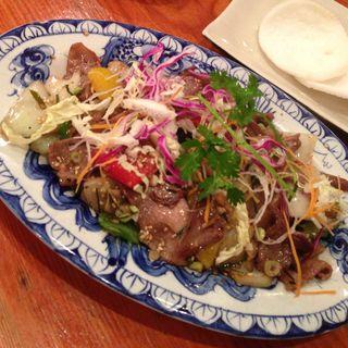 牛肉炒めレモングラス風味(タンカフェ Thang Cafe)