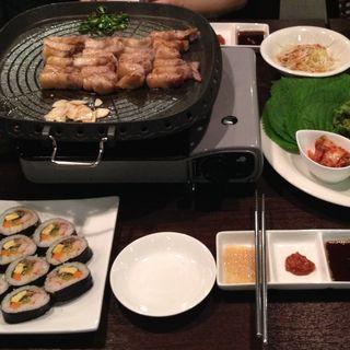 サムギョプサル(韓館 )