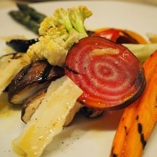 野菜のグリルの盛り合わせ(オステリア イル チッチョーネ (OSTERIA Il Ciccione))