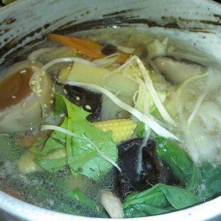 野菜たっぷり白湯刀削麺(小星星 )