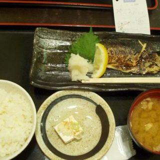 鯖塩焼き定食(東京厨房 虎ノ門三丁目店 (トウキョウチュウボウ))