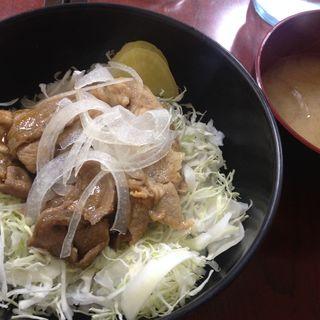 豚肉の生姜焼き丼(タウン )