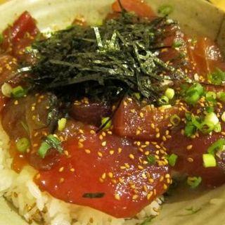 鮪づけ丼定食(魚八日比谷店)