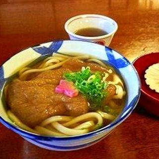 きつねうどん(美々卯 京橋店 (みみう))