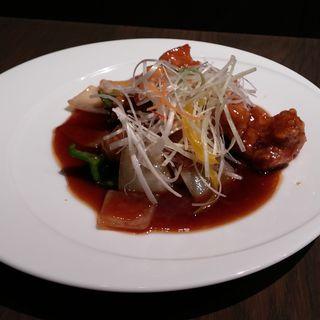 黒酢の酢豚(Citron)