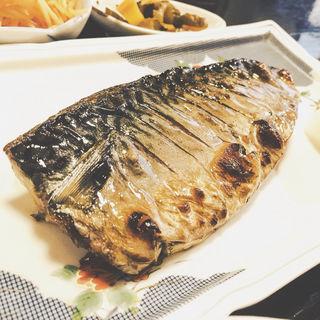 日替わり定食 鯖の塩焼き(魚目)