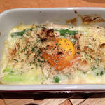 アスパラガスと卵のオーブン焼き