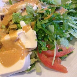 バンバンジー豆腐サラダ(バーミヤン 町田小山店  )