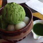 抹茶パフェ(中村藤吉 平等院店)