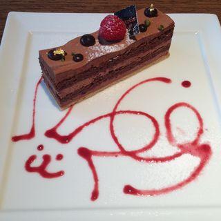 チョコレートケーキ(ショコラティエ パレ ド オール (CHOCOLATIER PALET D'OR))