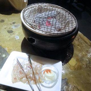 カワハギの一夜干し(円らく中野荘)