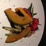 色々野菜のグリル バルサミコソース