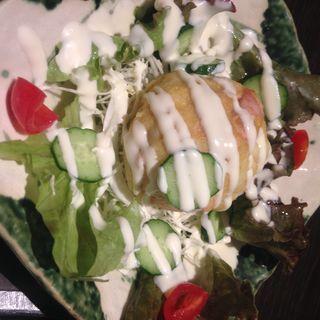カレー風味のポテトサラダ(はたごや JR山科駅店 )