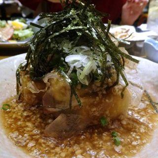 あげだし豆腐(のみくい処 炙谷)