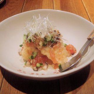 真鯛の野菜酢和え(ひだまり農園)