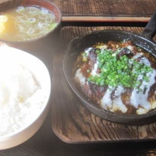 トンキコ生姜ガーリック定食(生姜軟骨料理 がらがら)