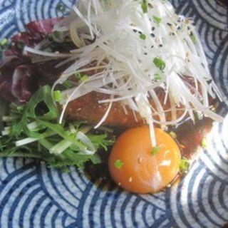 コリコリ軟骨入りつくねバーグ定食(生姜軟骨料理 がらがら)