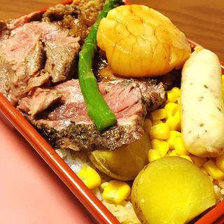 ステーキ弁当(豊平館厨房)