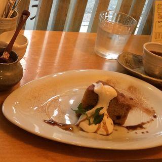 キャロットシナモンケーキ(ココカラcafe+dish)
