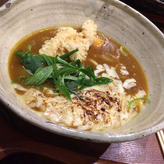 チーズ焼カレーうどん(饂の神 (三代目辨慶))