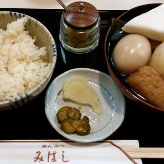 おでん茶飯(みはし 上野本店 )