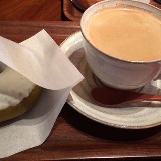 抹茶ミルク(ニコット&マム (Doughnut Cafe nicotto & mam))
