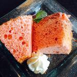 栃木県産 苺のシフォンケーキ