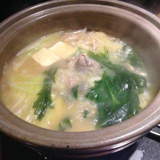 水炊きコース(博多 弁天堂)