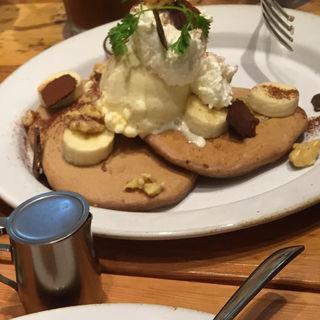 チョコレートバナナパンケーキ(ジェイエス パンケーキカフェ くずはモール店 (j.s. Pancake cafe))