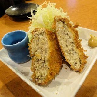 阿波尾鶏のメンチカツ(地鶏焼鳥 阿波尾)