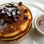 パンケーキWithメーブルバター チョコレート