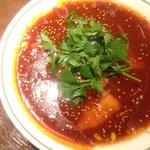 鱈と春雨の四川スープ