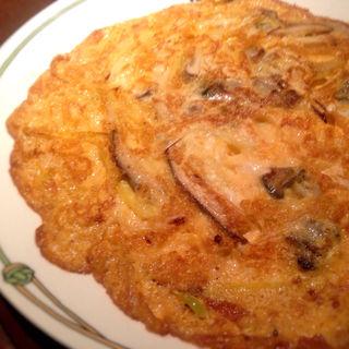 牡蠣の玉子炒め(紫玉蘭 (シギョクラン))