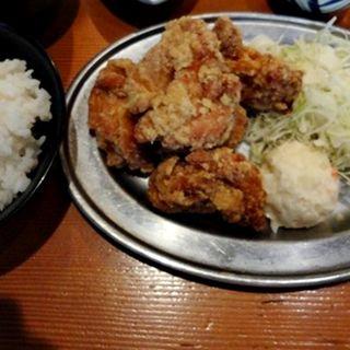 鶏唐揚げ定食(ぱたぱた家 東日本橋店 (【旧店名】手羽藩))