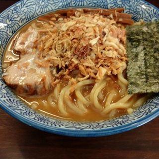 らぁ麺(こってり)(ふえ木)