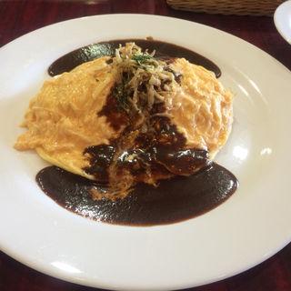 デミグラスソースオムライス(レストラン シロー (SHIRO))