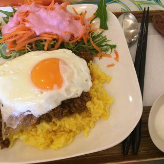 キーマカレーランチ(cafe サバーイサバーイ )