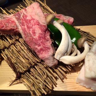 ミスジステーキ 1/4ポンド(熟成焼肉 听 四条大宮店 (ポンド))