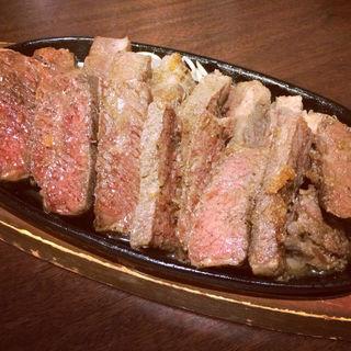牛カルビ1ポンドステーキ(魚将亭)