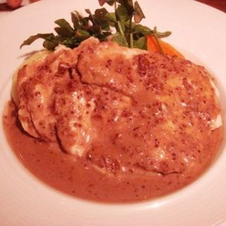 鶏の蒸し焼き粒マスタードソース(レストラン大宮 新丸ビル店 (RESTAURANT Omiya))