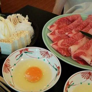 すき焼き(人形町今半 新宿高島屋店 (にんぎょうちょういまはん))