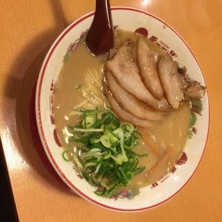 豚トロラーメン(天下一品 難波ウインズ前店 )