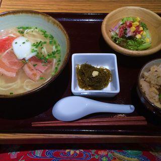沖縄そば定食(首里)