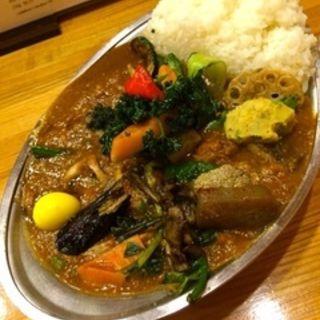 インド風カレー野菜チキン(プーさん )