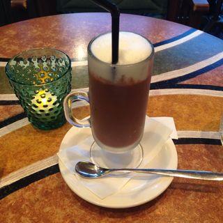 アイスココア(エバーグリーンカフェ (evergreen cafe))
