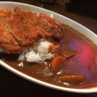 カツカレー(ハンバーグレストラン葦)