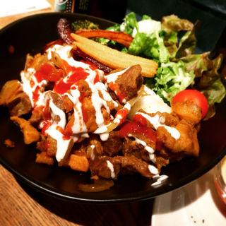 ラム&チキンオーバーライス(Nui. Hotel & Bar Lounge )